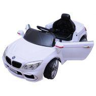 Ηλεκτροκίνητο παιδικό όχημα Άσπρο 12v τύπου JEEP BMW HJ-8383
