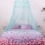 Κουνουπιέρα για διπλό κρεβάτι με πλήρες κιτ κρέμασης Yahe HYS52