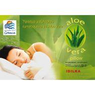 Μαξιλάρι Ύπνου Οικολογικό Κάλυμμα Aloe Vera 50X70 cm P-C MICROFIBER 500gr IDILKA 9970021335