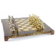 Χειροποίητο μεταλλικό σετ σκακιού της Ελληνορωμαϊκής περιόδου S3
