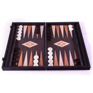 Χειροποίητο τάβλι 48 x 60 cm από απομίμηση ξύλου wenge με θήκες MANOPOULOS BXL1VV