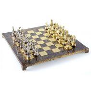 Χειροποίητο μεταλλικό σετ σκακιού με δισκοβόλο S7