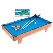 Ξύλινο Επιτραπέζιο 51x31.2x10,5cm Μπιλιάρδο Snooker HG201D