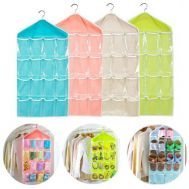 Κρεμαστή θήκη αποθήκευσης 16 θέσεων Candy color wardrobe wall