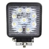 Προβολέας οχημάτων 12V 27w LED τετράγωνος OEM 06A