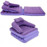 Φουσκωτός αναδιπλούμενος καναπές κρεβάτι Fiocked Folding Chair OEM INTIME J-1016