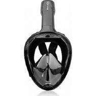 Μάσκα με Αναπνευστήρα και Βάση για Action Camera Sub Full Face Snorkel Mask Xifias 857 Black