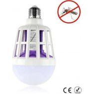 Λάμπα LED 15W & Ηλεκτρικό Εντομοκτόνο 2 σε 1 Εξολοθρευτής Εντομοπαγίδα Κουνουπιών