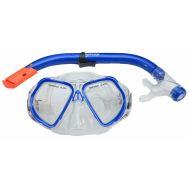 Σετ Εφηβική μάσκα siliter και αναπνευστήρας Mask Xifias 846