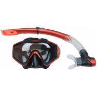 Σετ μάσκα siliter και αναπνευστήρας με βαλβίδα Mask Xifias 848