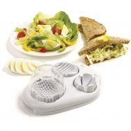 Πολυκόφτης Αυγών, Φρούτων, Λαχανικών 3 σε 1 Multi Egg Slicer