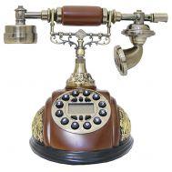 Τηλέφωνο Ρετρό Vintage Ξύλινο, Οθόνη, Αναγνώριση Κλήσης PRT25I