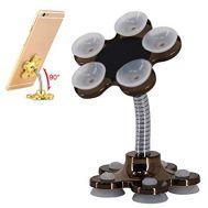 Βάση για κινητό διπλής όψης με βεντούζες Volwco Magic