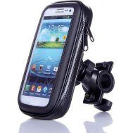 Αδιάβροχη Βάση - Θήκη Μηχανής/Ποδηλάτου για Κινητά, Smartphone, GPS + iPhone έως 5,7in FLY 53570