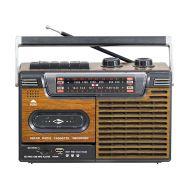 Επαναφορτιζόμενο ραδιοκασετόφωνο με USB  & Cassette Recorder PUXING  PX-336U