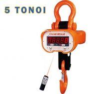 Ζυγαριά τσιγκέλι γερανού ψηφιακή βιομηχανικού τύπου 5000 KGR με τηλεχειριστήριο ιδανική και για γερανογέφυρα.