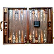 Τάβλι πολυτελείας Βαλίτσα από Καρυδιά 46x46cm