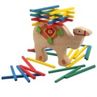 Ξύλινο παιχνίδι ισορροπίας Καμήλα Balance Beam Με Μπάρες Oem