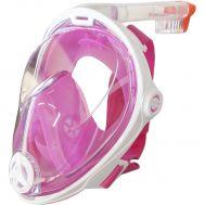 Παιδική Ολοπρόσωπη Μάσκα με Αναπνευστήρα Full Face S-M Ροζ 52296
