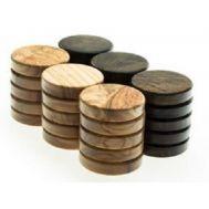 Πούλια ξύλο ελιάς μεγάλα καφέ PB1