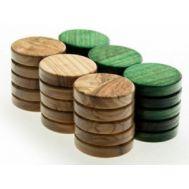 Πούλια ξύλο ελιάς μεγάλα πράσινα PG1