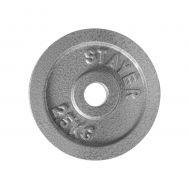 Δίκοι Γυμναστικής Άρσης βαρών AMILA, Εμαγιέ Stayer 84506 2.50kg 0.28mm