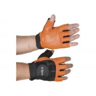 Ειδικά Δερμάτινα επαγγελματικά γάντια γυμναστικής Άρσης Βαρών AMILA 83258