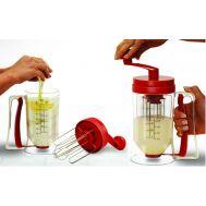 Χειροκίνητος διανομέας μίξερ υλικών για γλυκίσματα Pancake Machine