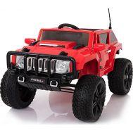 Ηλεκτροκίνητο παιδικό αυτοκίνητο κόκκινο 12v τύπου HAMMER RD007X