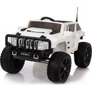 Ηλεκτροκίνητο παιδικό αυτοκίνητο λευκό 12v τύπου HAMMER RD007X