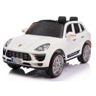 Ηλεκτροκίνητο παιδικό αυτοκίνητο λευκό 12v τύπου PORSCHE CAYENNE QLS-8588