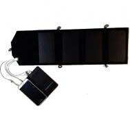 Ηλιακός Φορτιστής 7W - 6V Αναδιπλούμενος ΗΜ41007