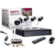Καταγραφικό δικτύου με 4 Κάμερες για Εποπτεία και Καταγραφής χώρου CCTV Security Reconding System, SRS1258