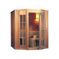 Ξύλινη Σάουνα τριών- τεσσάρων ατόμων Παραδοσιακή Sauna Spa NYS-1712