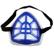 Πλαστική μάσκα εργασίας με φίλτρο πολυεστέρα masters idss18
