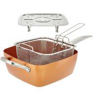 Πολυχρηστικό σκεύος κουζίνας 34x34 cm Copper Square Pan