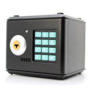 Μίνι Ηλεκτρονικό Χρηματοκιβώτιο - Κουμπαράς με Κλειδί & Κωδικό Ασφαλείας