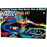 Φωτεινή πίστα αγώνων 360 τεμ. αυτοκινητόδρομος Mega Set Magic Tracks