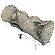 Παγίδα για ψάρια - κιούρτος 25x45cm στογγυλή πτυσσόμενη OEM