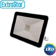 Extra Slim Προβολέας LED ExtraStar 20W με Μπλέ Φως