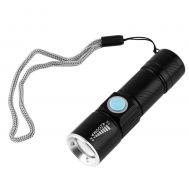 Φακός ZOOM Υψηλής Φωτεινότητας 200LM USB CREE LED Mini Tactica 2 Q5