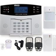 Πλήρες Ασύρματο Σύστημα Συναγερμού Με Ειδοποίηση GSM SMS Alarm PG500