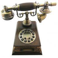 Τηλέφωνο Ρετρό Vintage Ξύλινο, Οθόνη, Αναγνώριση Κλήσης PRT930