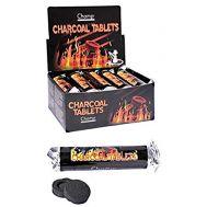 Κουτί με 10 καρβουνάκια 33mm για ναργιλέ Champ Charcoal Tablets 40447679