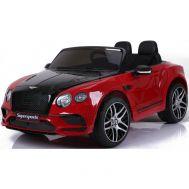 Ηλεκτρικό παιδικό αυτοκινητάκι κόκκινο-μαύρο SKORPION 12V BENTLEY CONTINENTAL SUPERSPORTS