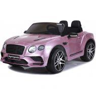 Ηλεκτρικό παιδικό αυτοκινητάκι ροζ SKORPION 12V BENTLEY CONTINENTAL SUPERSPORTS