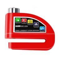 Λουκέτο Δισκόφρενου κόκκινο με Συναγερμό 110db TL602