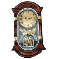 Ρολόι Τοίχου Ξύλινο Σκαλιστό CL040