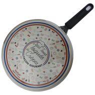 Κρεπιέρα Τηγάνι ρηχό για κρέπες 28cm συλλεκτική έκδοση «Tous toqués de crêpes» Tefal T04201-9312