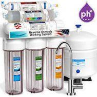 Σύστημα καθαρισμού νερού 9 σταδίων Αντίστροφης Όσμωσης με Αντλία και λάμπα UV Eiger RO ECO 9